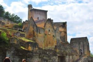Chateau de commarque guests house in dordogne