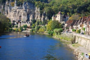 la roque gageac vilage near our guests house dordogne